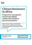Chinese businesses in Africa. Perspectives on corporate social responsibility and the role of Chinese government policies