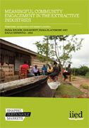 Meaningful community engagement in the extractive industries: Stakeholder perspectives and research priorities