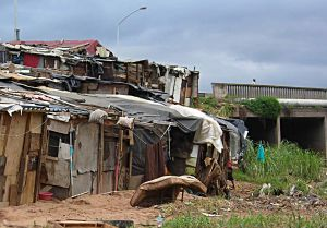 The Quarry Road informal settlement in Durban was hit by flooding in 2011 (Photo: David Dodman/IIED)