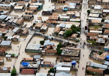 Flooding is a severe and increasingly frequent disaster with which cities have to deal (Photo: UNICEF-Marco Dormino)
