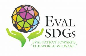 The EvalSDGs logo