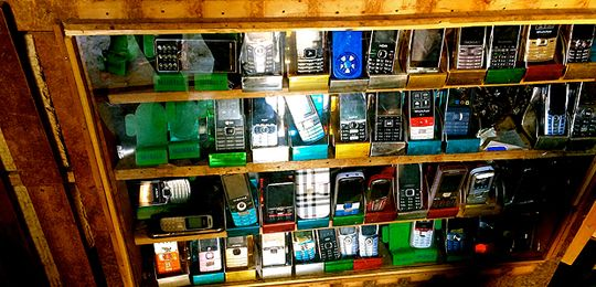 Mobile phones being sold in the Democratic Republic of Congo. Access to information and new technologies will be key to help delivering transformational change to the world's poorest countries (Photo: ConDev Center, Creative Commons, via Flickr)