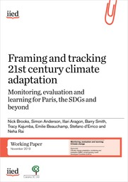 Framing and tracking 21st century climate adaptation