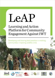 Learning and Action Platform for Community Engagement Against IWT