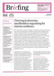 Thriving in diversity: smallholders organising for climate resilience