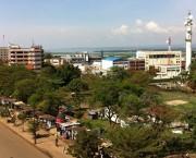 Aerial view of Kisumu, Kenya.