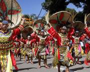 A Subanen harvest dance during a colourful street dancing competition of Kinabayo Festival. Community action by the Subanen tribe in Midsalip prevents mining companies from encroaching their land (Photo: Mark Navales/Google Licence)