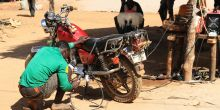 Rural welders use mini-grid electricity to generate income (Photo: Energy Change Lab)