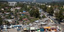 Informal housing in Addis Ababa. Ethiopia's cities are struggling to meet demand for affordable housing and settlements are growing (Photo: Olli Pitkänen, Creative Commons via Flickr)