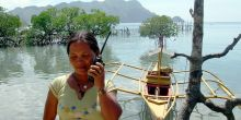 Maria Lourdes Alvarez is a warden monitoring fishing activity at Decalve Marine Sanctuary, a Marine Protected Area in the Calamianes Islands in the Philippines (Photo: Asuncion Sia/USAID, Creative Commons via Flickr)