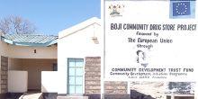 Boji Drug Store: financed by the European Union through the Community Development Trust Fund (Photo: John Nyangena)
