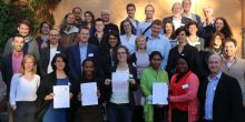 Plan Vivo partners at a conference in Sweden commit to actively engage in the implementation and accountability of the SDGs (Photo: Plan Vivo Foundation)