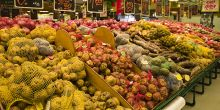 A huge selection of photos are displayed in a Peru supermarket (Photo: Teresa Stanton, Creative Commons, via Flickr)