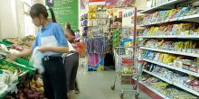 Chinese supermarket. Photo: Simon Lim