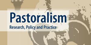 Front cover of the journal Pastoralism journal: research, policy and practice
