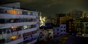 A local blackout in Dar Es Salaam. Power outages in Tanzania's capital are often caused by old cables and transformers (Photo: jay grandin, Creative Commons via Flickr)
