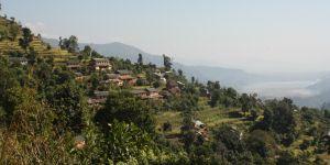 View of Harpan village of Panchase – the upstream of Phewa Lake (Photo: Amit Poudyal/IUCN)