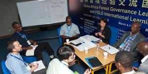 Launch event of the China-Africa Forest Governance Platform in March 2013. Photo: Simon Lim