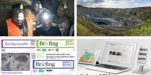 A collection of resources and images relating to the artisanal and small-scale mining sector compiled by IIED (Photos/images: Brian Sokol/Panos Pictures and IIED)