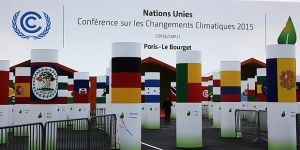 The entrance to Le Bourget, the venue for the UN climate talks (COP21) (Photo: Takver, Creative Commons via Flickr)
