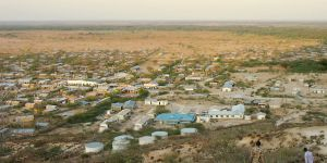 The growing economic centre of Merti town on the Ewaso Ng'iro river, arid lands of Kenya (Photo: Caroline King-Okumu)