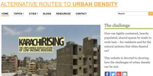 Alternative routes to urban density screenshot