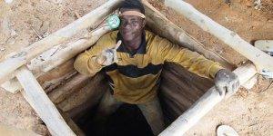 An artisanal miner