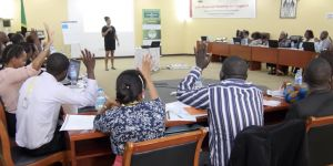 Thirty officials from Anglophone African countries attended the workshop (Image: Siima Media/IIED)