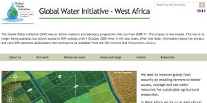Global Water Initiative - West Africa screenshot