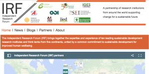 Independent Research Forum screenshot