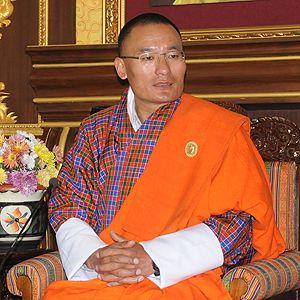 Bhutan Prime Minister Tshering Tobgay (Photo: Tshering Palden)