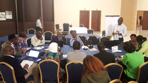 Skill share sessions covered a wide range of topics (Photo: B. Henriette/IIED)