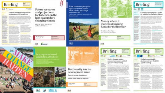 Publications covers collage