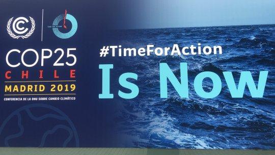 A poster at COP25