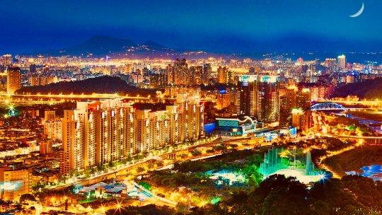New Taipei City in Taiwan
