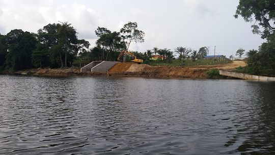 A water connection to link the Lobé river to Kribi harbour, South Region, Cameroon