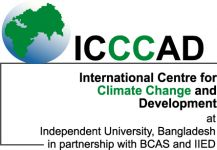 International Centre for Climate Change and Development (ICCCAD)