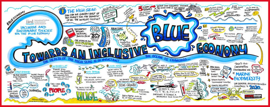 Scribing-style whiteboard drawing from IIED's event